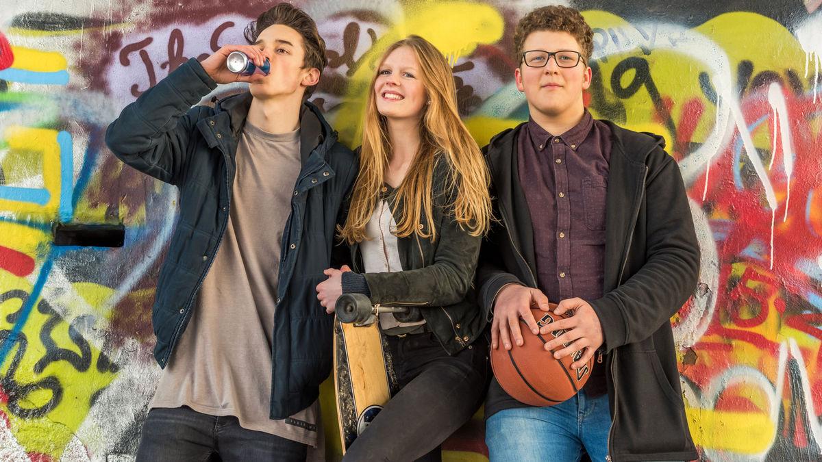 Teenager Gruppe
