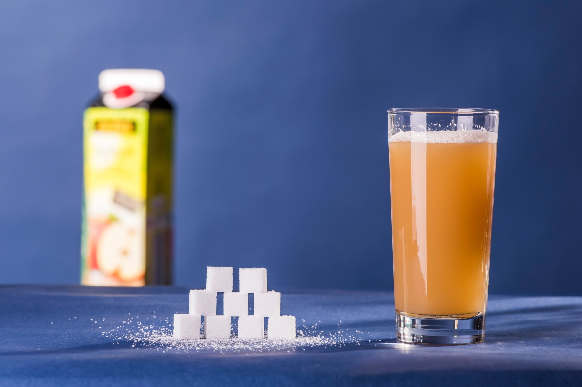 Zuckeranteil im Apfelsaft