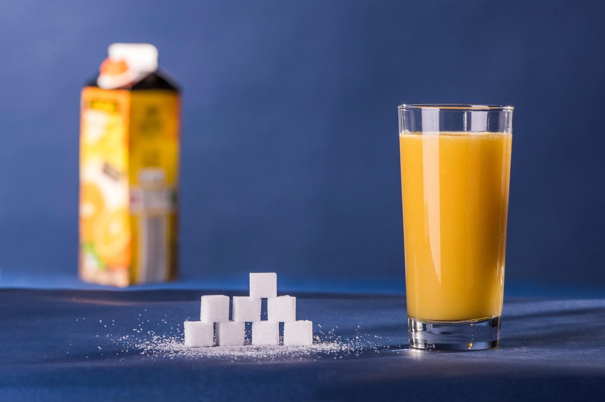 Zuckeranteil Orangensaft