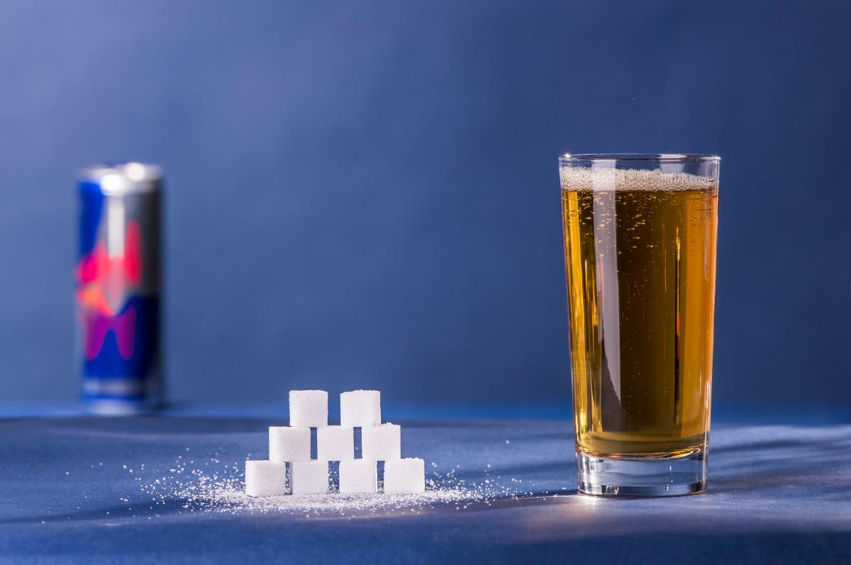Zuckeranteil im Energy Drink