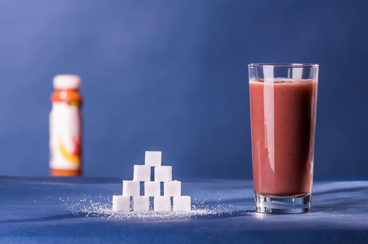 Zuckeranteil im Frucht Smoothie