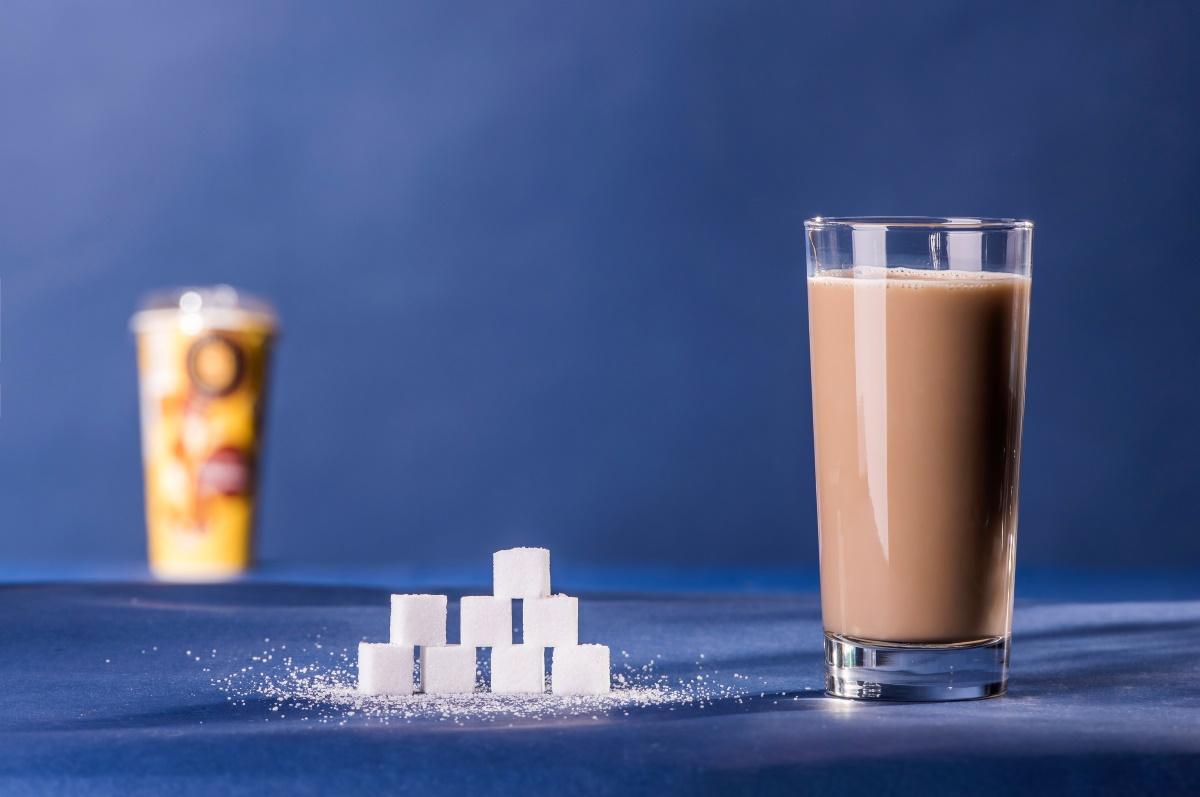 Zuckeranteil im Kaffee-Kaltgetränk