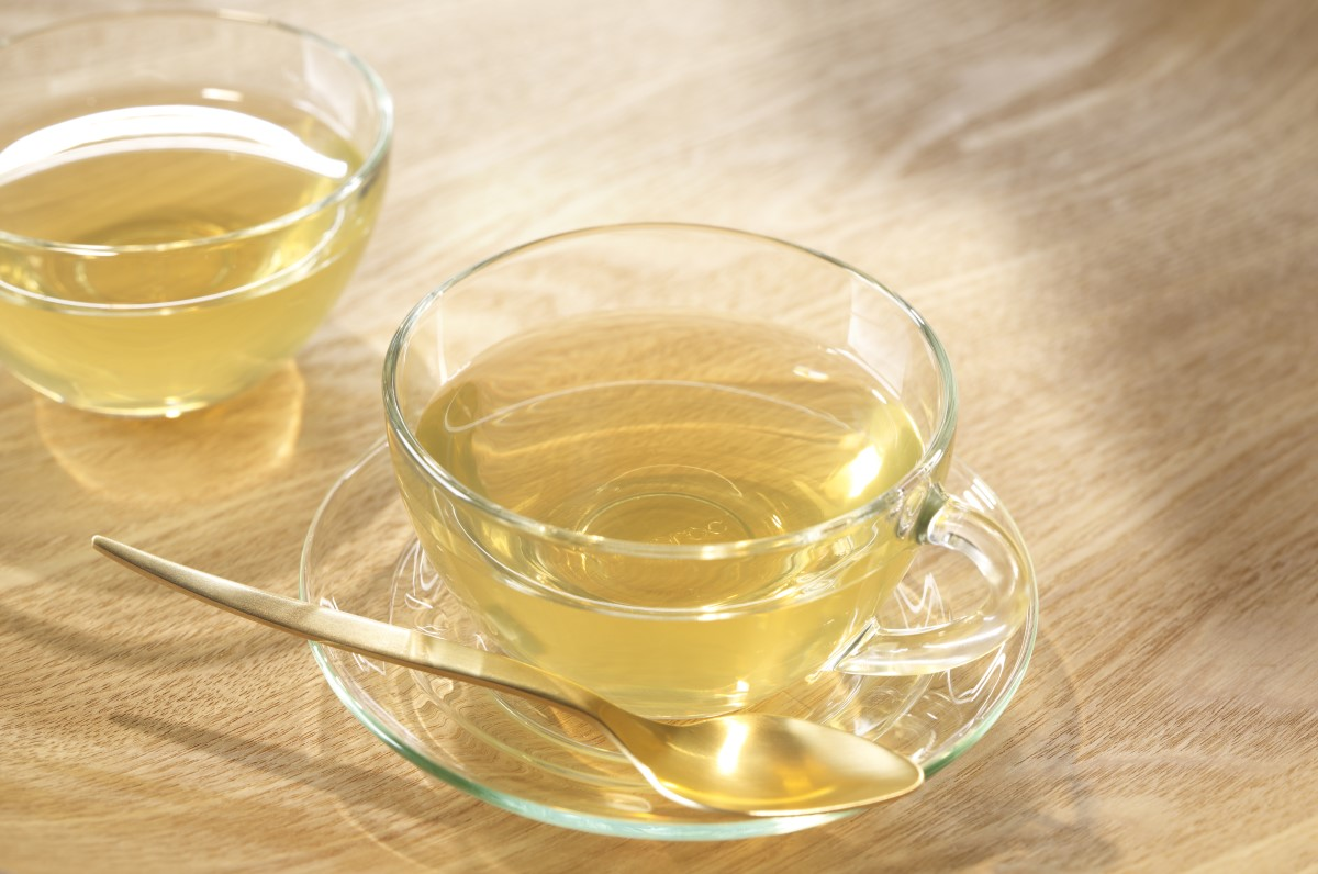 Grüner Tee und Zähne
