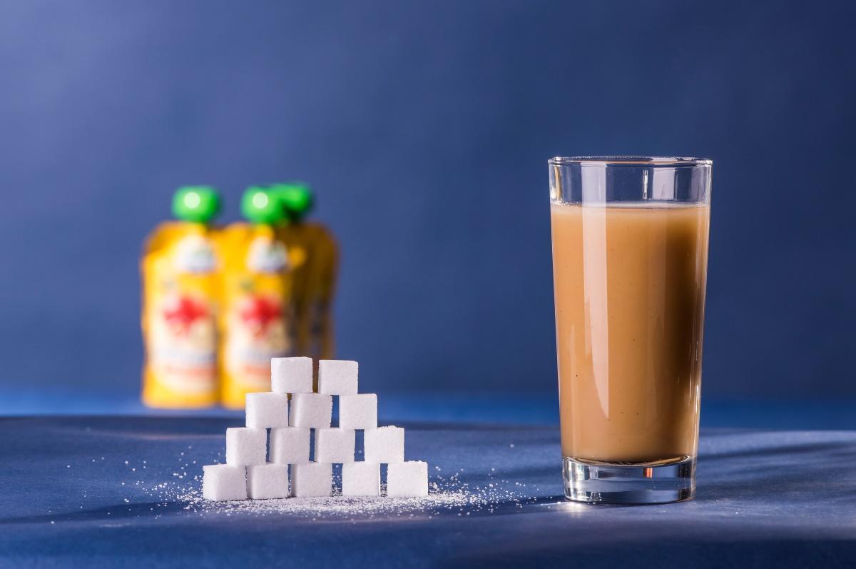 Zuckeranteil Quetschies für Kinder